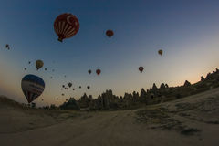 De ballons van de lucht Stock Fotografie