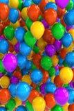 De Ballons van de partij Stock Foto's