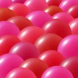 De ballons van de partij stock illustratie