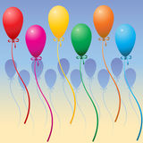 De Ballons van de partij Royalty-vrije Stock Foto