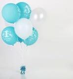De ballons van de verjaardag royalty-vrije stock afbeeldingen