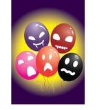 De ballons van Halloween Stock Afbeelding