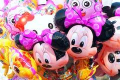 De ballons van het beeldverhaal Stock Fotografie