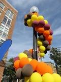 De Ballons van het dalingsfestival Royalty-vrije Stock Foto