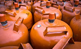 De ballons van het gas Royalty-vrije Stock Afbeeldingen