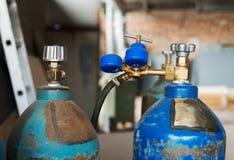 De ballons van het propaangas Stock Fotografie