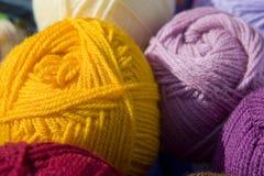 De ballons van kleuren van garen Royalty-vrije Stock Foto