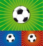 De balpictogram van het voetbal Royalty-vrije Stock Afbeeldingen