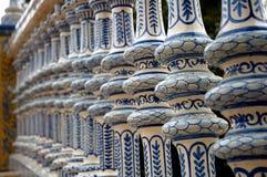 De baluster van het porselein stock afbeeldingen