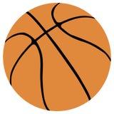 De balvector van het basketbal Royalty-vrije Stock Afbeeldingen