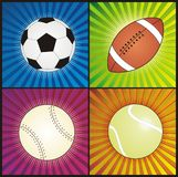 De balvector van sporten Royalty-vrije Stock Afbeeldingen