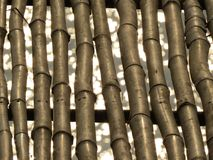De bamboeachtergrond Stock Afbeelding