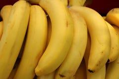 De bananen zijn zeer rijp stock fotografie