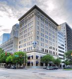 De BancFirstbouw in Stad de van de binnenstad van Oklahoma stock afbeelding