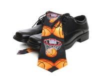 De Band en de Schoenen van het basketbal Stock Fotografie