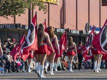 De band toont van de buitengewone Toernooien van beroemde Rose Parade Royalty-vrije Stock Afbeeldingen