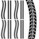 De band van de auto vector illustratie
