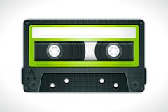 De Band van de cassette Stock Illustratie
