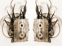 De band van de cassette Royalty-vrije Stock Afbeeldingen
