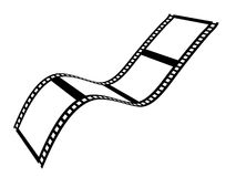 De band van de film Stock Afbeelding