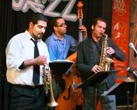 De band van de jazz Stock Fotografie