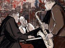 De band van de jazz Royalty-vrije Stock Fotografie