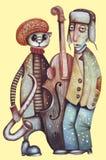 Jazzband Stock Foto's