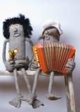 De band van de muziek Royalty-vrije Stock Foto