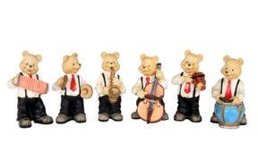 De band van de muziek Stock Foto's