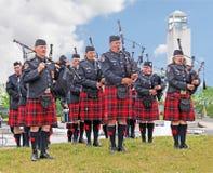 De Band van de pijp Royalty-vrije Stock Fotografie