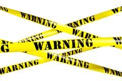 De band van de waarschuwing vector illustratie