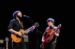 De band van Hazey Janes presteert in Gran Teatre del Liceu stock foto