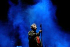De band van Jesus en Mary Chain-presteert bij het Correcte 2013 Festival van Heineken Primavera Stock Afbeeldingen