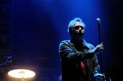 De band van Jesus en Mary Chain-presteert bij het Correcte 2013 Festival van Heineken Primavera Stock Afbeelding