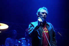 De band van Jesus en Mary Chain-presteert bij het Correcte 2013 Festival van Heineken Primavera Royalty-vrije Stock Fotografie