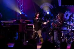 De band van Joe Lynn Turner stock fotografie