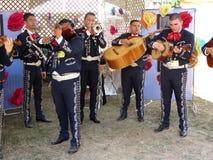 De Band van Mariachi bij de Wandelgalerij Royalty-vrije Stock Foto's