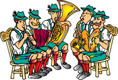 De Band van Octoberfest Royalty-vrije Stock Foto's
