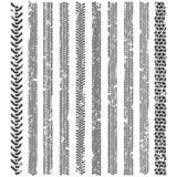 De band volgt patronen Een reeks van gedetailleerd bandloopvlak Stock Afbeeldingen