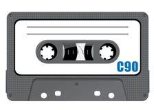 De bandcassette van het detail Stock Foto's