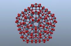 De Banden van de molecule royalty-vrije illustratie