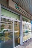 De bank van Crédit Agricole Royalty-vrije Stock Foto