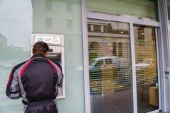 De bank van Crédit Agricole Stock Foto's