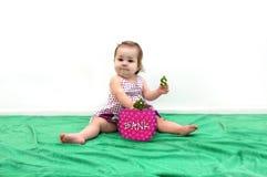 De Bank van de baby Royalty-vrije Stock Foto