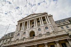De Bank van Engeland, Stad van Londen, het UK royalty-vrije stock afbeelding