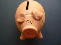 De bank van het geld Stock Foto's