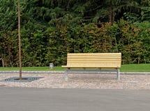 De bank van het park Royalty-vrije Stock Foto's