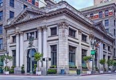 De Bank van landbouwers & van Handelaars in Los Angeles Stock Fotografie