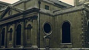 De Bank van Londen van de post van Engeland stock videobeelden