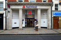 De Bank van National Westminster Royalty-vrije Stock Foto's